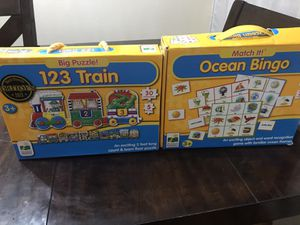 Floor puzzle / matching game for Sale in Irving, TX