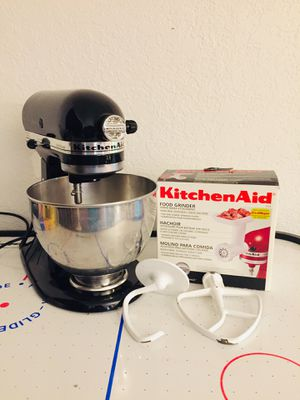 Kitchenaid Ultra Power Mixer with Food Grinder for Sale in Tacoma, WA