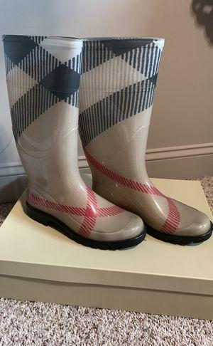 Burberry rain boots for Sale in Utica, MI