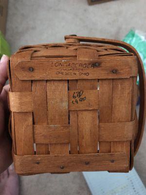 LONGABERGER Basket for Sale in Columbus, OH