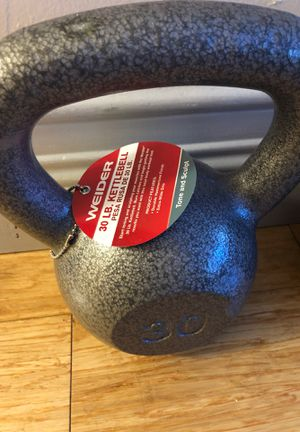 Kettle bell 30 lbs for Sale in Miami, FL