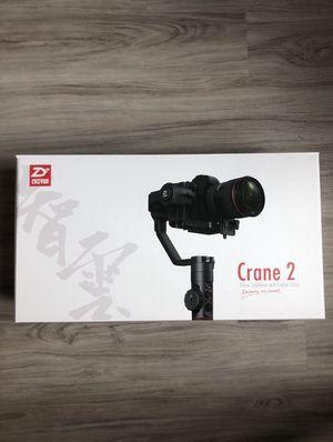 Zhiyun Crane 2 gimbal for Sale in Tampa, FL