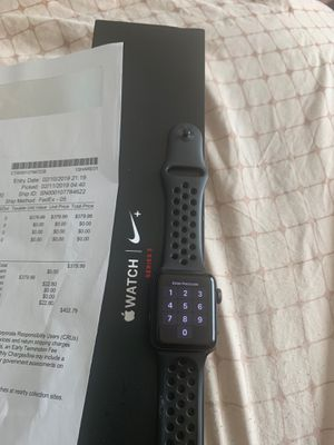 Apple Watch series 3 Nike edition for Sale in Suitland, MD