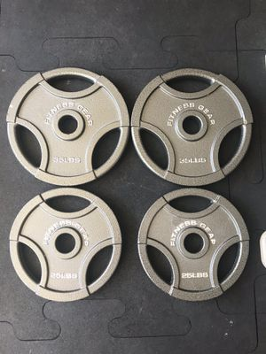 Olympic weight plates (2x35Lbs, 2x25Lbs) for $250 Firm on Price for Sale in Walnut, CA