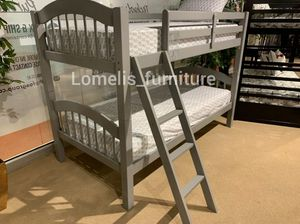 Twin/twin bunk beds with mattresses included for Sale in Walnut, CA