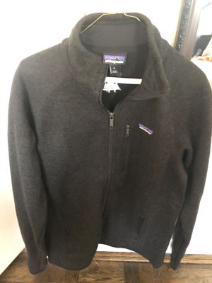 """Patagonia - """"WWE"""" full zip company sweater (MEDIUM) for Sale in New York, NY"""