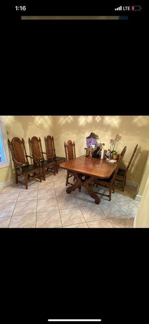 antique dinning set for Sale in Dania Beach, FL