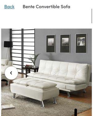 Leather Couch/futon for Sale in Atlanta, GA