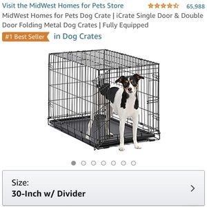 30in Dog Crate for Sale in Culver City, CA