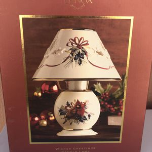 Winter Greetings Candle Lamp for Sale in Pomona, CA