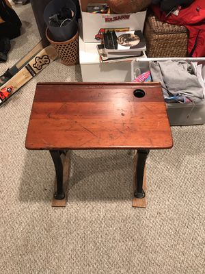 Antique Student's Desk for Sale in Hingham, MA