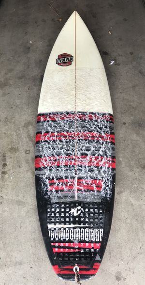 "Custom 5'11"" evolved surfboard for Sale in Fresno, CA"