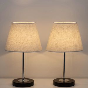 Pair of Table Lamps Bedside Desk Light Shade for Sale in Issaquah, WA