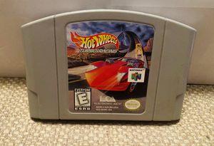 Nintendo 64 Hot Wheel Turbo Racing for Sale in Elizabethton, TN