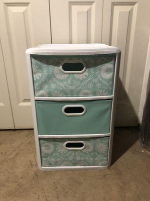 3 drawer storage bin container for Sale in Burr Ridge, IL