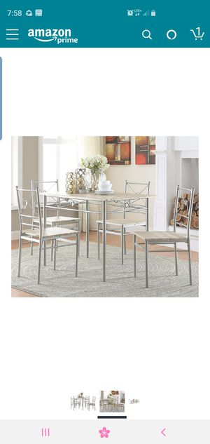 Kitchen table with 4 chairs for Sale in Catonsville, MD