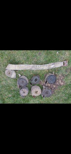 """4"""" Winch Straps w/ Flat Hook for Sale in Oak Lawn,  IL"""