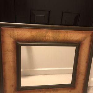 World Map Mirror for Sale in Springfield, VA