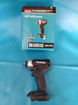 Makita 18-Volt LXT Lithium-Ion Sub-Compact Brushless Cordless 3/8 in. Sq. Drive Impact Wrench (Tool Only) impacto for Sale in Los Angeles, CA