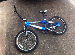 Blue mongoose BMX bike for Sale in Houston, TX