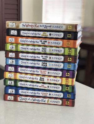 Diary of a Wimpy Kid 1-11 like new collection $90 OBO for Sale in Cutler Bay, FL