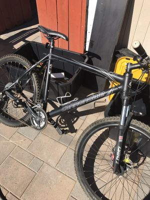 Cannondale F5 mountain bike - jumbo for Sale in San Diego, CA