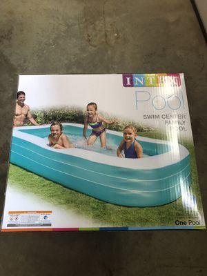 "Intex Swim Center Family Inflatable Pool 120"" X 72"" X 22"" for Sale in Burke, VA"
