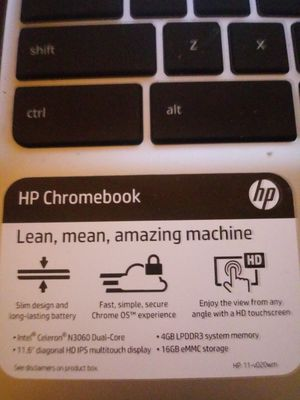 Hp Chromebook for Sale in Kansas City, MO