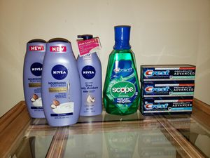 Toiletries - 7pcs for Sale in St. Louis, MO