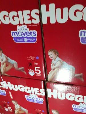 HUGGIES LITTLE MOVERS SIZE 5 $33 CADA UNO PRECIO FIRME DISPONIBLES EN SANTA ANA for Sale in Santa Ana, CA