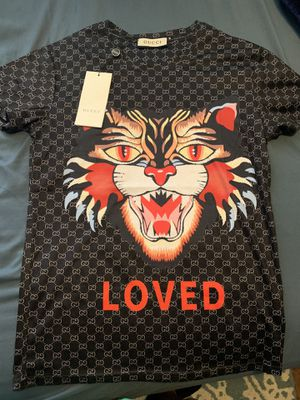 GUCCI shirt TIGER/LOVED EDITION ❗️THROW ME AN OFFER OR TRADE ❗️ for Sale in Melrose Park, IL