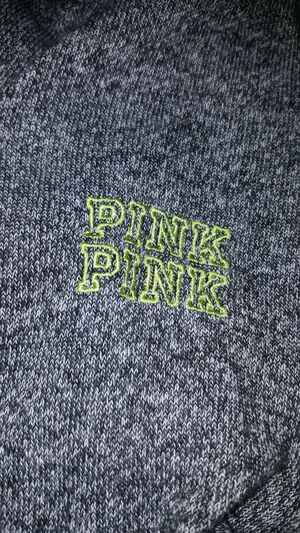 PINK Sweatshirt size small grey for Sale in Elyria, OH