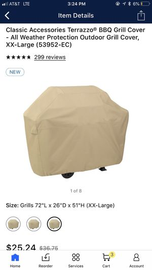 Classic Assessories BBQ Grill Cover for Sale in Phoenix, AZ