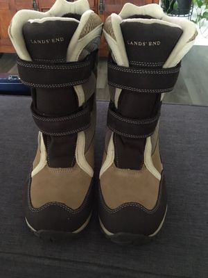 Lands end kids snow boots, size 1 for Sale in Cherry Hill, NJ