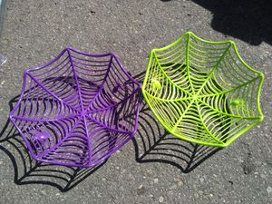 New Halloween Candy Bowls Both $2 for Sale in El Cajon, CA