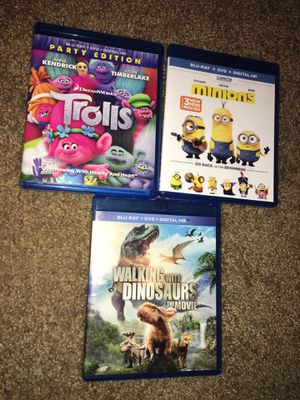 Blu-ray kids movies for Sale in Chambersburg, PA