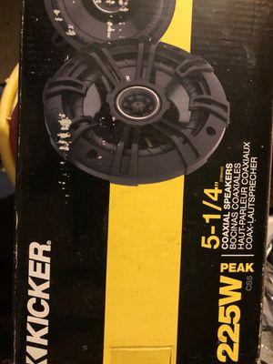 "New kicker 225 W 51/4"" speakers for Sale in San Antonio, TX"