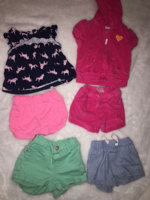Baby girl clothes 6-12 months for Sale in Bloomington, CA
