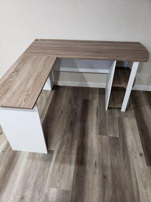 New L shape desk escritorio nuevo for Sale in Stockton, CA