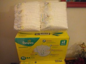 New born pampers for Sale in San Francisco, CA