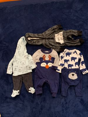 BABY BOY CLOTHES FOR NEW BORN OUTFIT for Sale in Alexandria, VA