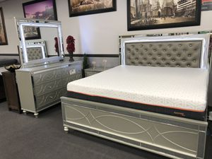 4PC KING Bedroom Set on SALE 🔥 for Sale in Fresno, CA