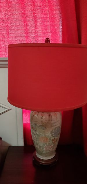 Large red lamp shades for Sale in Tampa, FL