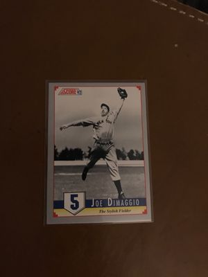 1992 issued Joe DiMaggio #5 The stylish fielder for Sale in Las Vegas, NV
