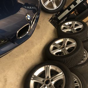 BMW Winter Wheels And Tires for Sale in Burlington, NJ