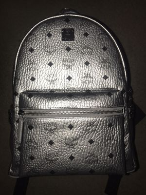 Mcm Backpack (Berlin silver) for Sale in San Jose, CA