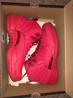Air Jordan retro 12 gym red for Sale in Fontana, CA