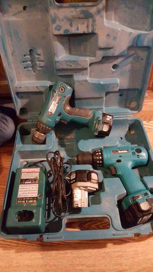 Makita 12v drills, batteries, charger for Sale in Delavan, WI