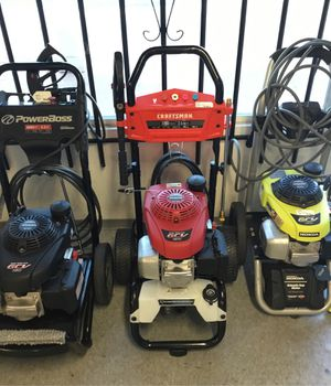 Asst. Pressure Washers for Sale in Bostonia, CA