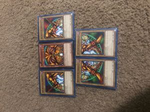 Exodia full piece set with sleeves for Sale in Los Angeles, CA